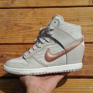 Nike Dunk Sky Hi High Wedge Wedges Sneakers Shoes